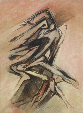 Grace Renzi : N° 49 : 1961, 97 x 71 cm.